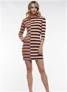 Why Mini Ribbed Dress D190441