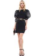 Why Puff Sleeve Dress D190542