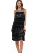 Why Fringe Dress D190941