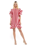 Why Stripe Dress D200070