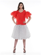 Why Polka Dot Skirt S190096