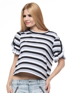 Why Stripe Casual Top T180163