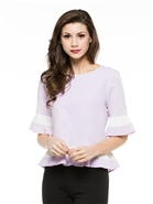 Why Crepe Pleats Top T180168