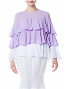 Why Chiffon Ruffle Top T180723