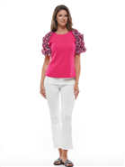 Why Ruffle Top T190058