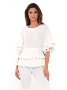 Why Ruffle  Top T200076