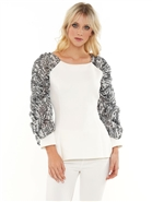 Why Print Sleeve Top T200089