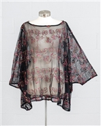 Yushi Moda Sheer Top 1923