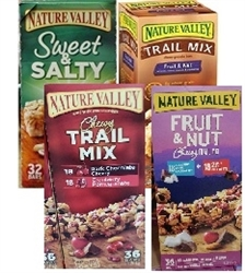 NATURE VALLEY 32/36 BARS IN A BOX