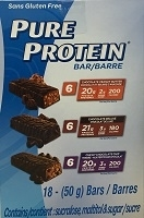 PURE PROTEIN BARS VARIETY 18 PACK