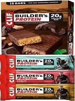 CLIF BUILDERS 18 BAR VARIETY PACK