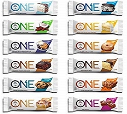 'ONE' BARS 20% PROTEIN 1% SUGAR 12 / BOX