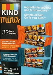 KIND MINI BARS VARIETY PACK (32 BARS x 20g)