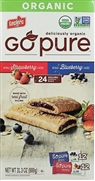 GO PURE BY LECLERC ORGANIC VARIETY FRUIT FILLED 24 BARS