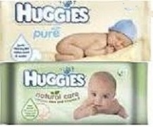 HUGGIES SOFT SKIN WIPES (10)