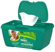 PAMPERS SOFT CARE WIPES (72 WIPES)