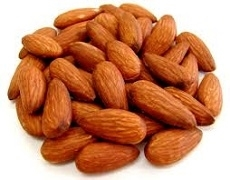 ALMONDS WHOLE ROASTED (1 KG)