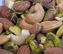 MIXED NUTS WITH PISTACHIOS - No Peanuts (1 KILO BAGS)