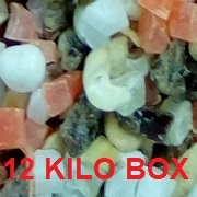 CALIFORNIA TRAIL MIX (12 KILO B0X) NO PEANUTS