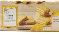 MARKS & SPENCER CUSTARD CREAM BISCUITS (30)