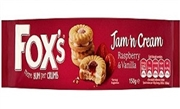 FOX'S JAM N'CREAM BISCUITS (20)