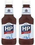 HP SAUCE SQUEEZY BOTTLES (12)