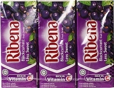 RIBENA (READY DILUTED) DRINK TETRA PACKS 1L (12)