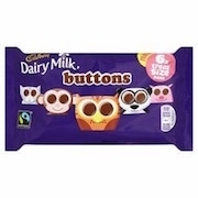 CADBURY CHOCOLATE BUTTONS 48 BAGS