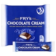 FRY'S CHOCOLATE CREAM 3 PACK x 49g (18)