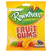 ROWNTREE GUMS OR PASTILLES 12 BAGS