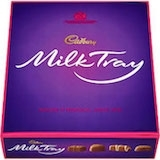 CADBURY MILK TRAY 8 BOXES