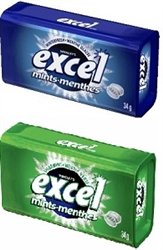 EXCEL MINTS PACK OF 8