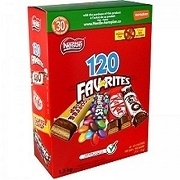 NESTLES TREAT SIZE FAVORITES 120 TOTAL BARS