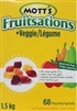 MOTTS FRUITSATIONS VEGGIE ASSORTED FRUIT CANDIES