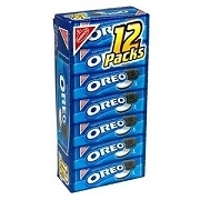 OREO COOKIES SINGLE SERVE 1 x 12 PACK