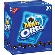 "NABISCO OREO ""MINIS"" 30 PACKETS / BOX"