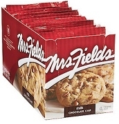 MRS. FIELDS COOKIES 12 PACK BOX