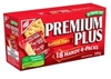 CHRISTIES PREMIUM PLUS CRACKERS 18 HANDY 4 PACKS  (12 BOXES)