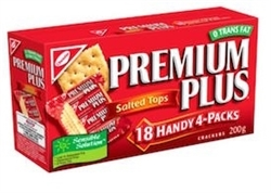 CHRISTIES PREMIUM PLUS CRACKERS 18 HANDY 4 PACKS (1 BOX)