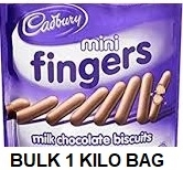 CADBURY MINI CHOCOLATE FINGERS (12)