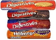 MCVITIES DIGESTIVES MILK CHOC, DARK CHOC, PLAIN, HOBNOBS, CARAMEL CHOC, RICH TEA. (1)