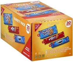 NABISCO 30 ASSORTED VARIETY PACK