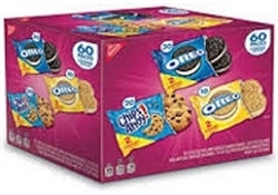 NABISCO 60 ASSORTED VARIETY PACKS