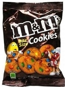 M & M BITE SIZE COOKIES 30 PACKS (1)