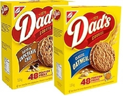 DADS OATMEAL 48 PORTION PACKS (2 COOKIES PER PACK)