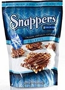 SNAPPERS CRUNCHY CHOC CARAMEL PRETZELS 15 PACKS/BOX