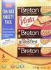 DARE BRETON VARIETY CRACKERS (5 PACK)