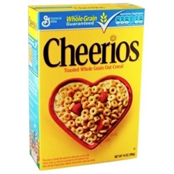 CHEERIOS WHOLE GRAIN OATS 1 KILO LARGE BOX
