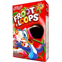 KELLOGGS FRUIT LOOPS 1.1 K JUMBO BOX