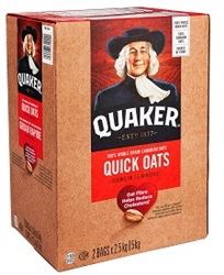 QUAKER QUICK OATS 5.16 KILO JUMBO BOX